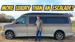 This $80,000 Chevy Explorer Conversion Van Is A Private Jet For The Road (Makes Escalade Feel Cheap)