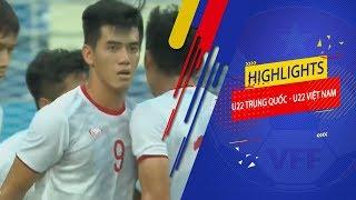 Highlights   U22 Trung Quốc - U22 Việt Nam   3 điểm đáng nhớ của HLV Park trước thầy cũ