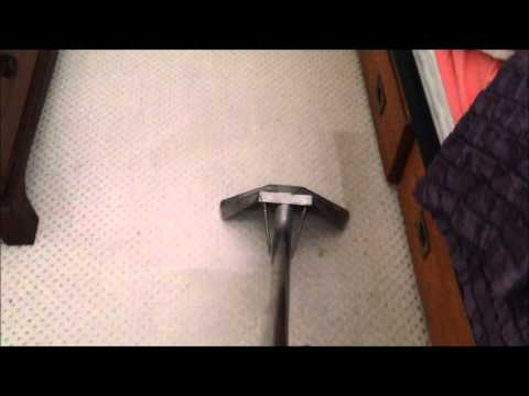 Carpet Cleaning - The startling reveal