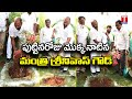 Minister Srinivas Goud Takes Up Green India Challenge, Plant Sapling In Minister Quarters | T News
