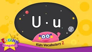 Kids vocabulary compilation ver.2 - Words starting with U, u - Learn English for kids
