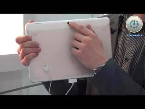 Предварительный обзор Huawei MediaPad 10 FHD