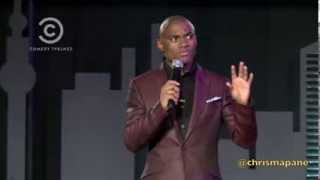 Chris Mapane performs on Comedy Central Africa