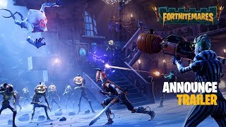 Fortnite - Fortnitemares (PVE) Announce Trailer