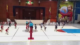 UNCOLI 2019 BOGOTA-2DA RONDA VOLEIBOL MASCULINO SAN BARTOLO vs NUEVA GRANADA(FEB.19-2019)
