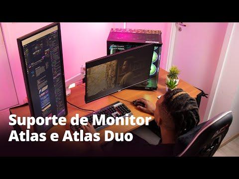 Suporte de Monitores Duplo e Individual | Atlas e Atlas Duo