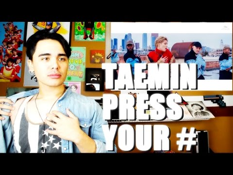 TAEMIN - Press Your Number MV Reaction [DUH COLORS! O_O]