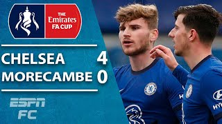 Timo Werner FINALLY scores! Chelsea vs. Morecambe FA Cup highlights | ESPN FC