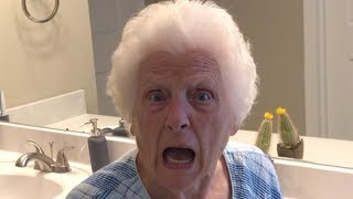 Grandma's Perfect Day Trick Shots | Ross Smith
