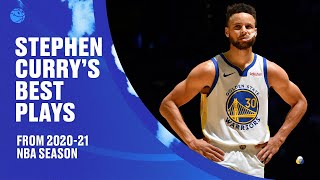 Stephen Curry's BEST PLAYS from 2020-21 NBA Season ⚡️