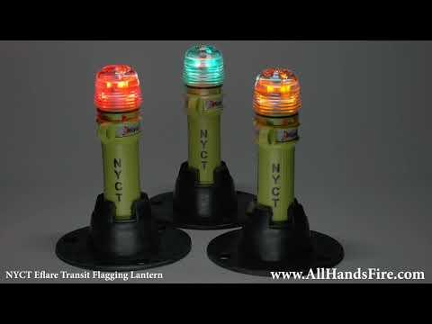 New York City Transit Eflare Flagging Signal Lantern Light