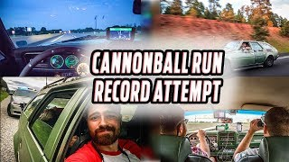 A Cannonball Record Attempt in a 47-Year-Old Station Wagon