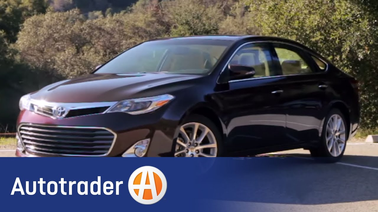 Certified Used Cars >> 2013 Toyota Avalon - Sedan | New Car Review | AutoTrader.com - YouTube