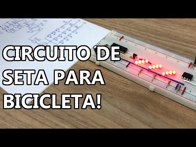 MONTE UM CIRCUITO DE SETA PARA BICICLETA! DIY