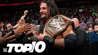 WWE Championship Changes On RAW (WWE Top 10)