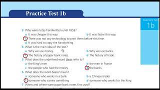 اجابات Practice Test 1 B ورك بوك الثالث الثانوي 2019