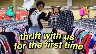 thrifting shopping + haul