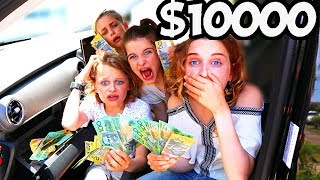 $10000 CASH FOUND IN NEW CAR Kids Moral Test on The Norris Nuts WWYD