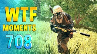 PUBG WTF Funny Daily Moments Highlights Ep 708