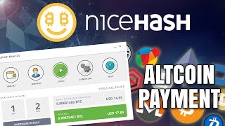 Should You Use Nicehash Again? Potential Altcoin Payments