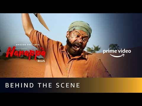 Narappa- Behind The Scene- Venkatesh, Priyamani, Rao Ramesh
