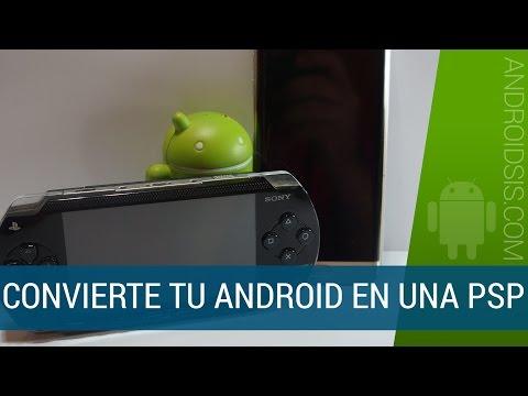 Cómo convertir Android en una PSP