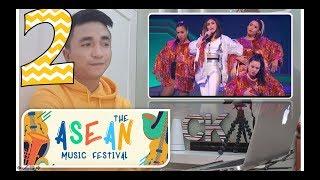 Part 2:  Sarah Geronimo | ASEAN Music Festival | CK Answers Back