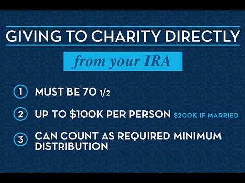 How To Give To Charity Directly From Your IRA