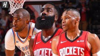 Oklahoma City Thunder vs Houston Rockets - Full Highlights | October 28, 2019 | 2019-20 NBA Season