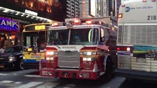 1 Million Views Special FDNY Responding Compilation 6 Blazing Sirens & Loud Air Horns Throughout NYC