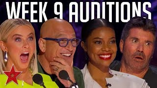 America's Got Talent 2019 Auditions | WEEK 9 | JUDGE CUTS | Got Talent