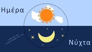 * Ψηφιακή τάξη: Ο άξονας και η περιστροφή της Γης – Ημέρα & Νύχτα