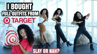 I BOUGHT FULL OUTFITS FROM TARGET! Did I Cop The Goods? | jasmeannnn