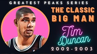 Why Tim Duncan was one of the best ever   Greatest Peaks Ep. 12