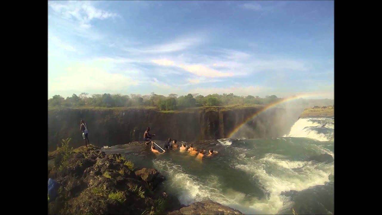 World S Most Dangerous Devil S Pool At Victoria S Falls