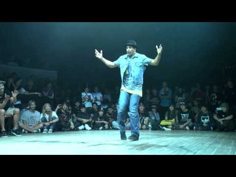 WAPPER(BORN 2 FUNK) vs SALAH(VAGABOND CREW) DANCE@LIVE 2014 FREESTYLE KANTO CHARISMAX vol.2【FINAL】