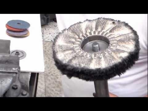 Cuchillo artesano pulido a espejo musica movil - Pulir aluminio a espejo ...