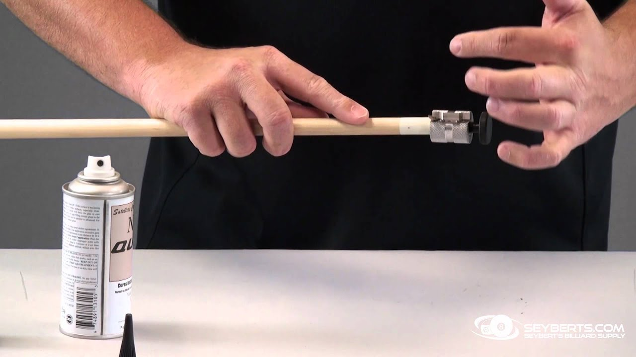 How To Install A Cue Tip On Cue Seyberts Com Youtube
