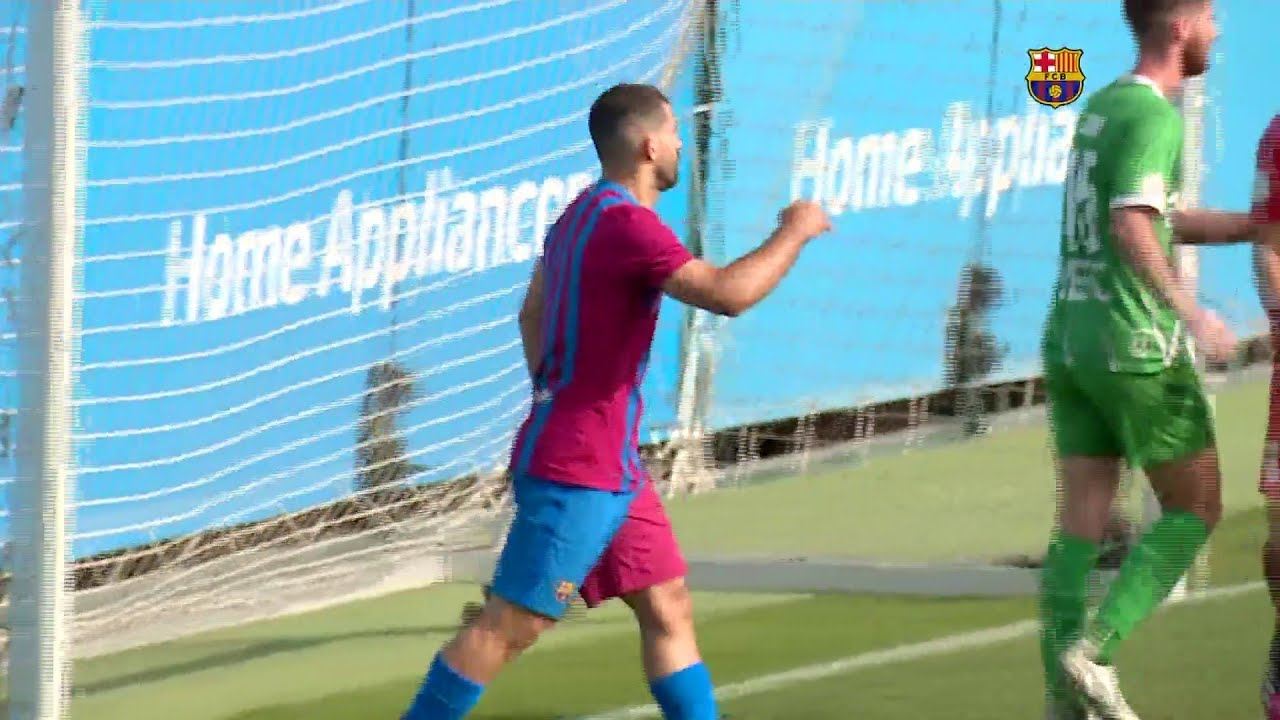 Kun Agüero Scores In FC Barcelona Debut