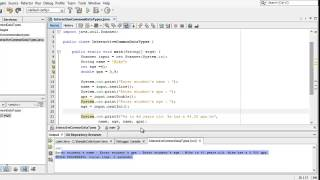 Learn Programming in Java - Lesson 02 : Variables, Data Types and Assignment.