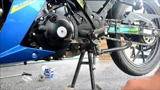 Change oil Suzuki Raider 150 Carb Synthetic | Top 1 Oil - ShitITWithCris