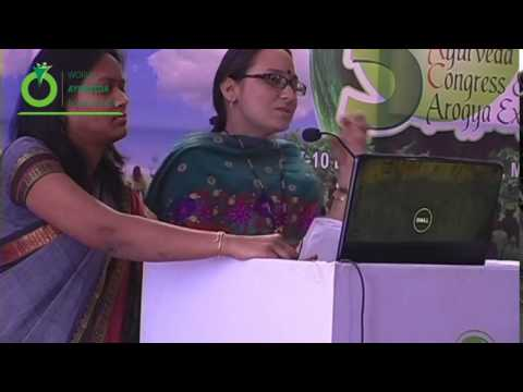 Speech Delivered by Dr. Samata Tomar - 5th World Ayurveda Congress