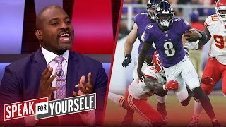 Lamar Jackson & Ravens have caught up to the Kansas City Chiefs — Wiley | NFL | SPEAK FOR YOURSELF