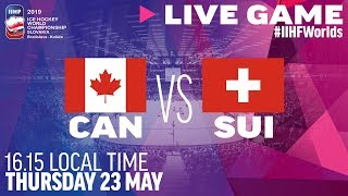 Canada-Switzerland | Quarterfinals | Full Game | 2019 IIHF Ice Hockey World Championship