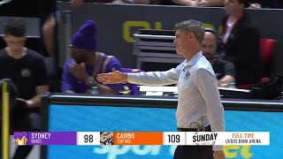 Sydney Kings vs. Cairns Taipans - Game Highlights