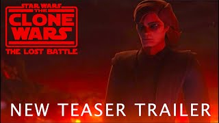 Clone Wars: The Lost Battle (Anakin vs Obi-Wan New Trailer)