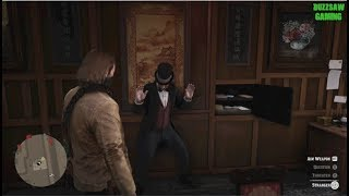 Red Dead Redemption 2: Robbing Secret Poker Game And Gun Store