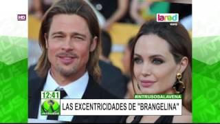 Conoce las excentricidades de Brad Pitt y Angelina Jolie
