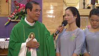 Đoàn 100 Người Anh Em Phật Tử Đến Với Lòng Chúa Thương Xót
