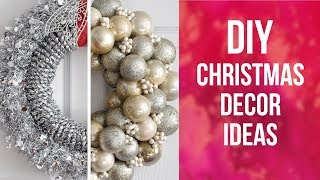 DIY Christmas Decor Ideas  | So Easy & Inexpensive